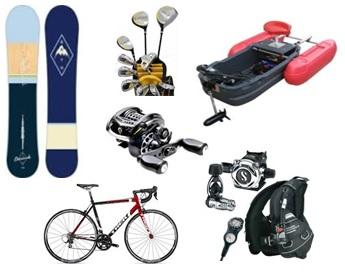 スポーツ用品・レジャー用品の買取