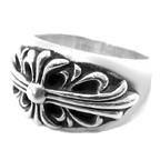 クロムハーツ高価買取 シルバーフローラルクロスリング高額査定 その他の指輪詳細はコチラ