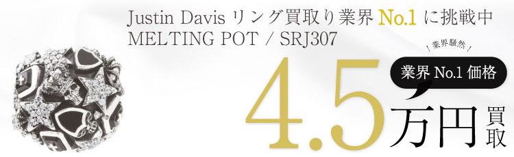 MELTING POT 指輪 シルバー リング / SRJ307 4.5万買取