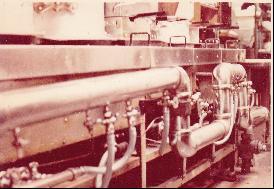 昭和20年代の厨房