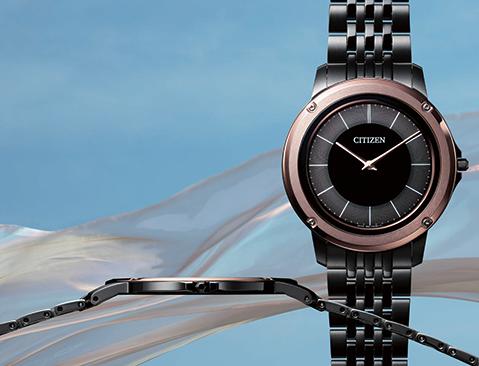 3f57f58725 シチズン時計長:、以下 シチズン)は、世界で最も薄い光発電時計『エコ・ドライブ ワン』  より、装着感をさらに極め、わずか2.1mm(設計値)厚のバンドを実現した3 ...