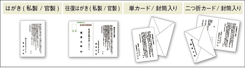 用紙の種類