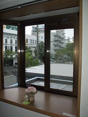 キヨミズキャンパス 出窓