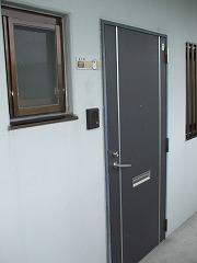 キヨミズキャンパス お部屋のドア