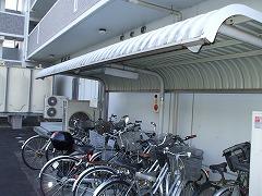 キヨミズキャンパス 駐輪場