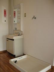 サウスステーション 洗面・洗濯機置場