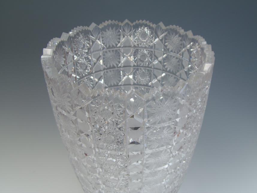 花瓶 クリスタル