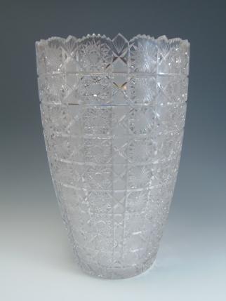 クリスタル花瓶
