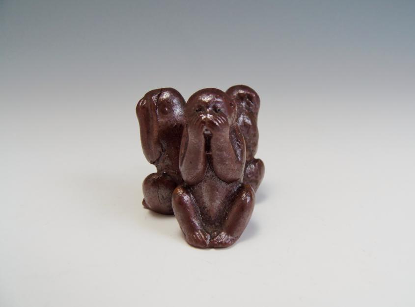 三猿 ミニ置物