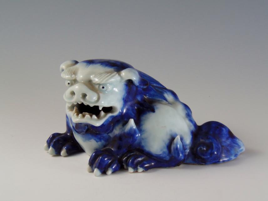 陶器 獅子 置物