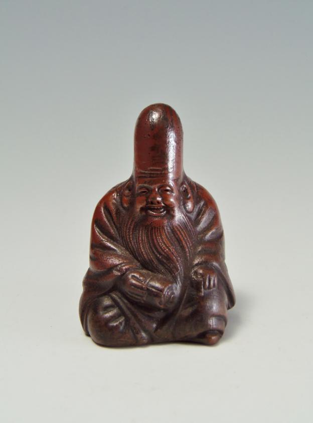 福禄寿 骨董品