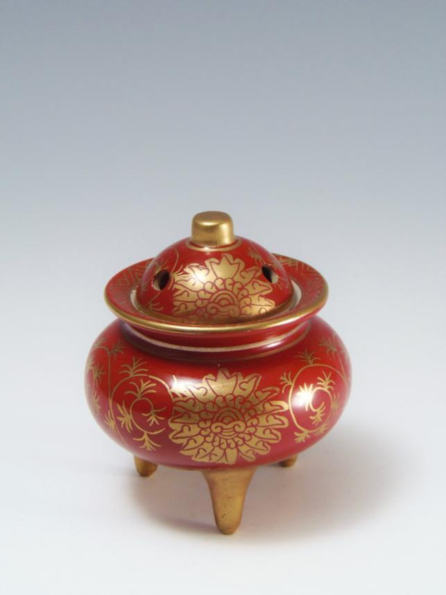 香炉 九谷焼