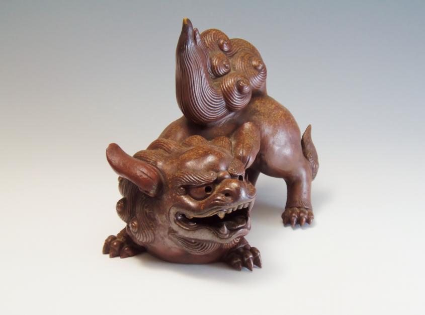 獅子 陶器