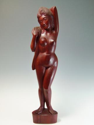 木彫り 裸婦