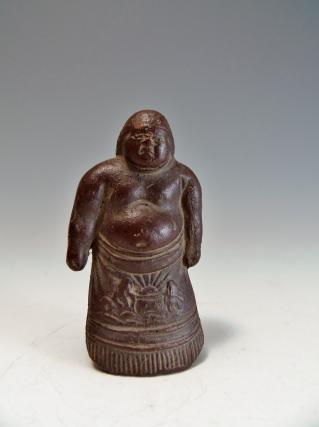 ミニ力士像 置物 陶器