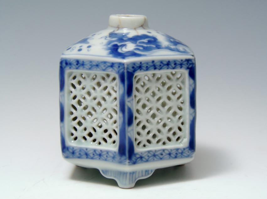 平戸焼 虫籠 骨董品
