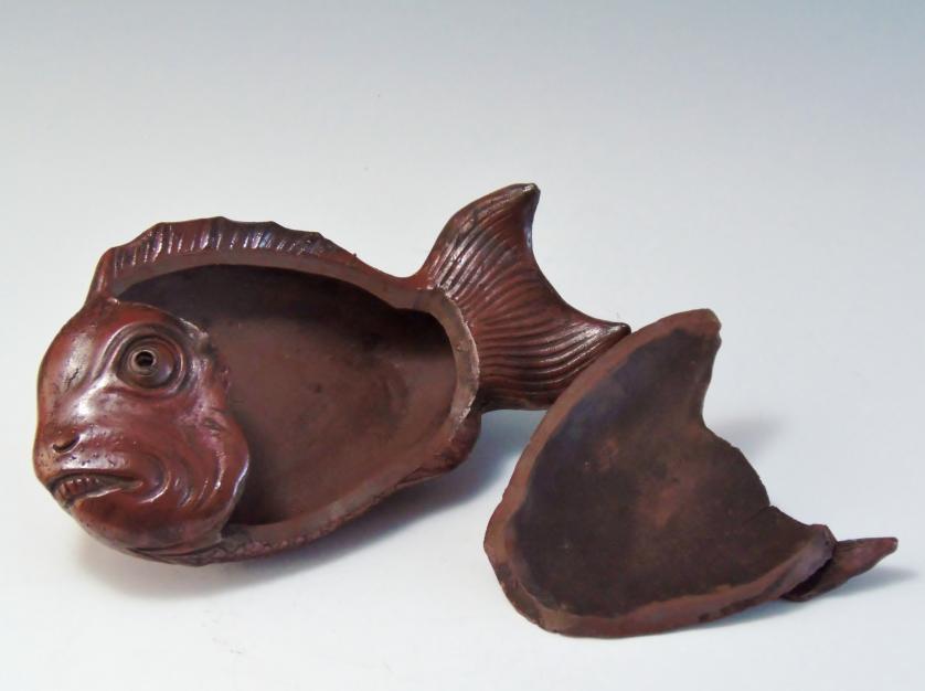 鯛 古備前焼 骨董品