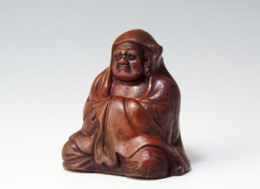 達磨座像 骨董品