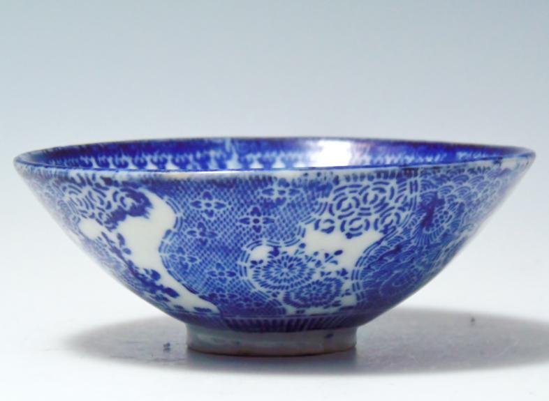 コンニャク印判茶碗