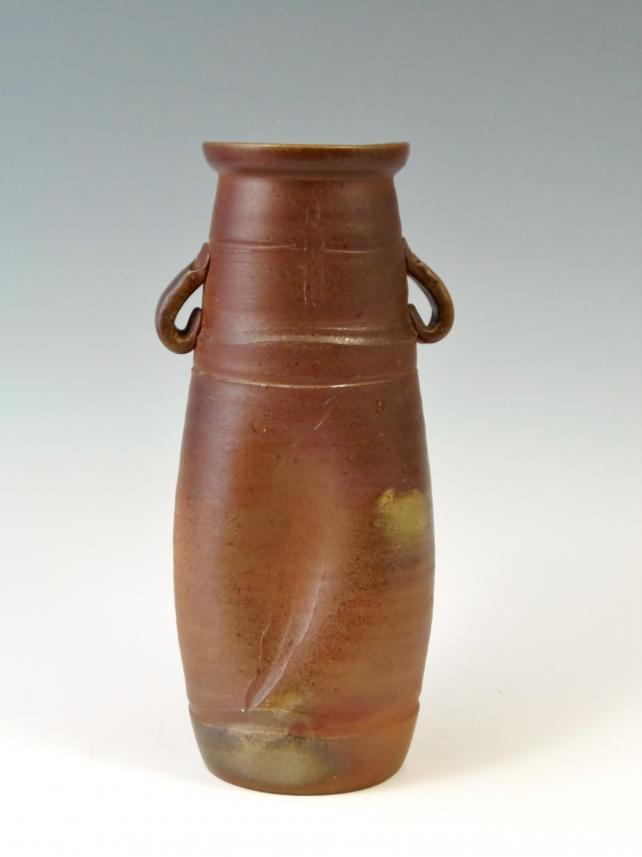 泰山窯 花瓶 備前焼