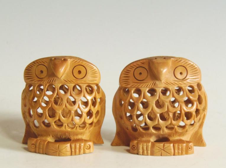 木彫り フクロウ