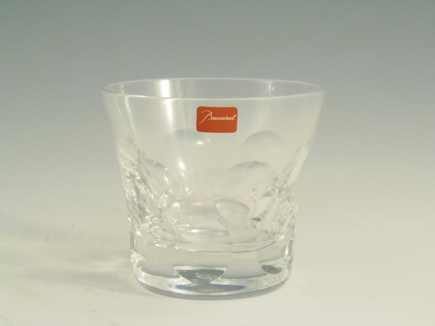 バカラ タンブラーロックグラス ベルーガ ペア