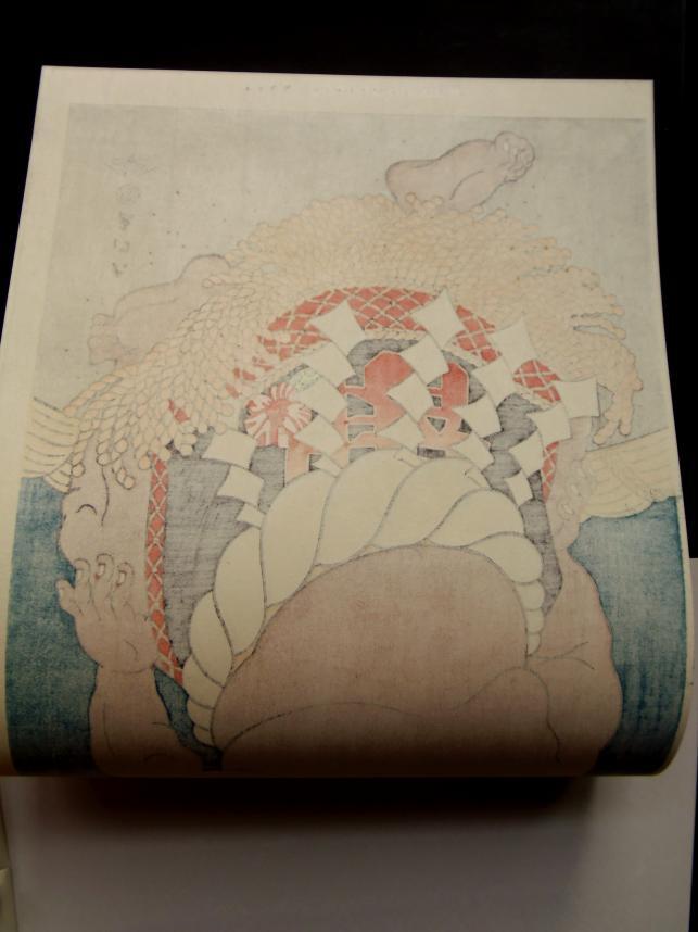 相撲 木画