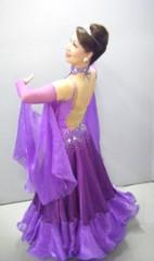 社交ダンス ヘアメイク3