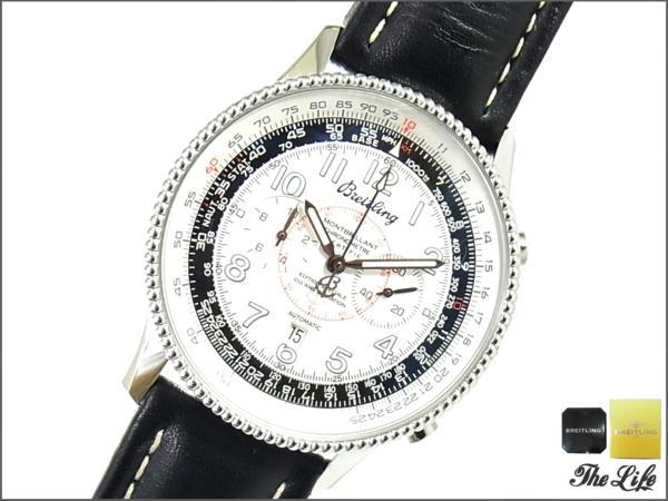BREITLINGブライトリングモンブリラン/A35330/腕時計/1903ライト兄弟リミテッドモデル/国際保証書付属/自動巻き/オートマチック/デイト表示/クロノグラフ/回転ベゼル