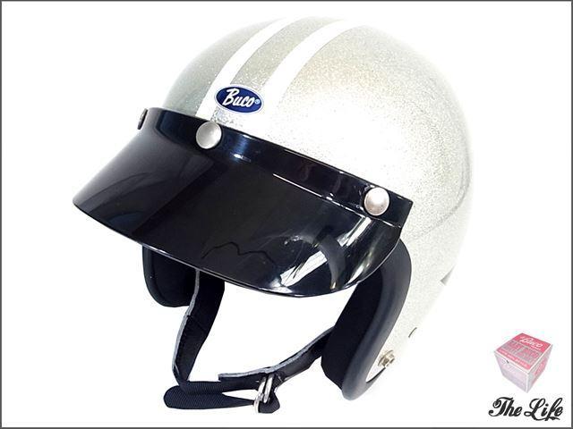 TOYS McCOYマッコイワイルドワンヘルメットS/M 56~58cm ブコ シルバー BUCO HELMET ALUMINUM FLAKE WILD ONE 60