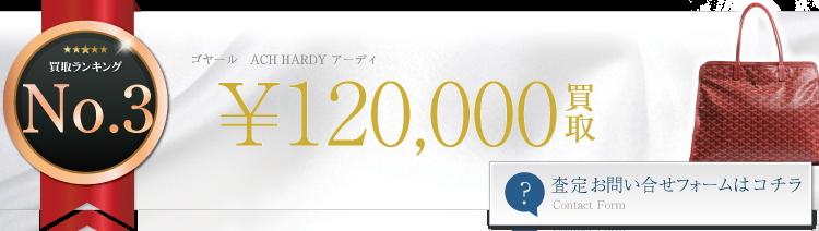 ゴヤール ACH HARDY アーディ 12万円買取 ブランド買取ライフ