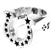 T-H.S RING ホースシューリング #13号 シルバー