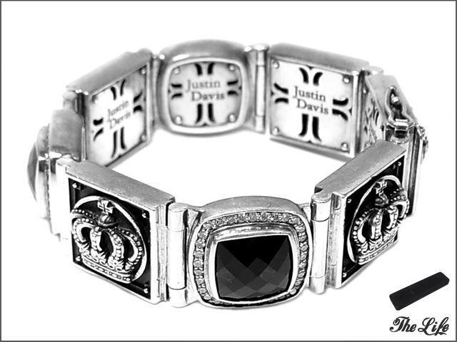 Justin Davis SBJ152/M.TS Bracelet/ONXY/ブレスレット/オニキス/ジャスティンデイビス/純正ケース付属