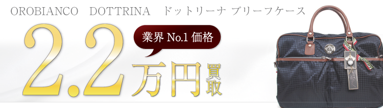 オロビアンコ DOTTRINA ドットリーナ ブリーフケース 2.2万円買取 ブランド買取ライフ