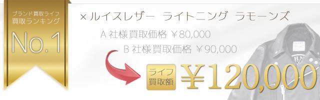 No.1  ×Lewis Leathers×RAMONES ラモーンズライトニングライダースジャケットEAGLE HEAD pt LIGHTNING/0253LB05 12万円買取