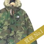 ノースフェイス高価買取!ノベルティエレバスジャケット迷彩高額査定!