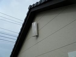 千葉県野田市平面アンテナ設置例