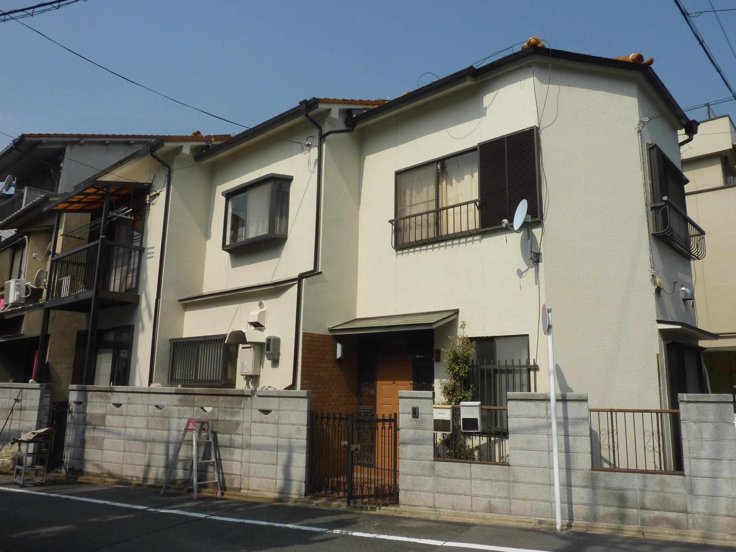 京都市南区-外壁塗装工事002