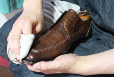 革靴の表革のお手入れ方法